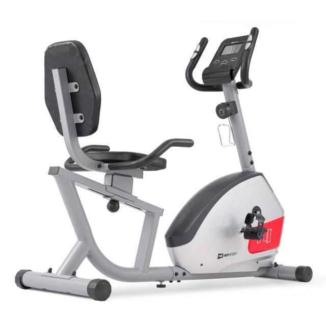 Горизонтальний велотренажер для дома Hop-Sport HS-035L Solo сірий