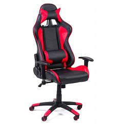 Офисный стул Formula красный с черным