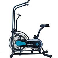🔥 Эйрбайк (орбитрек) аэродинамический для дома до 120 кг Air bike USA Style XXX501 синий