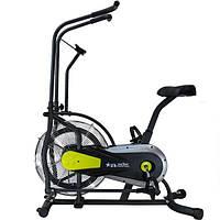🔥 Эйрбайк (орбитрек) аэродинамический для дома до 120 кг Air bike USA Style XXX502 желтый