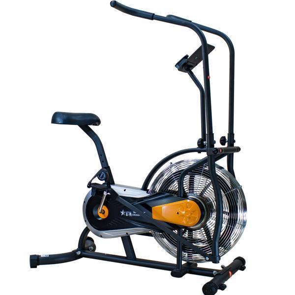🔥 Эйрбайк (орбитрек) аэродинамический для дома до 120 кг Air bike USA Style XXX503 оранжевый