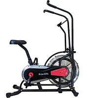 🔥 Эйрбайк (орбитрек) для дома аэродинамический до 120 кг Air bike USA Style XXX504 красный