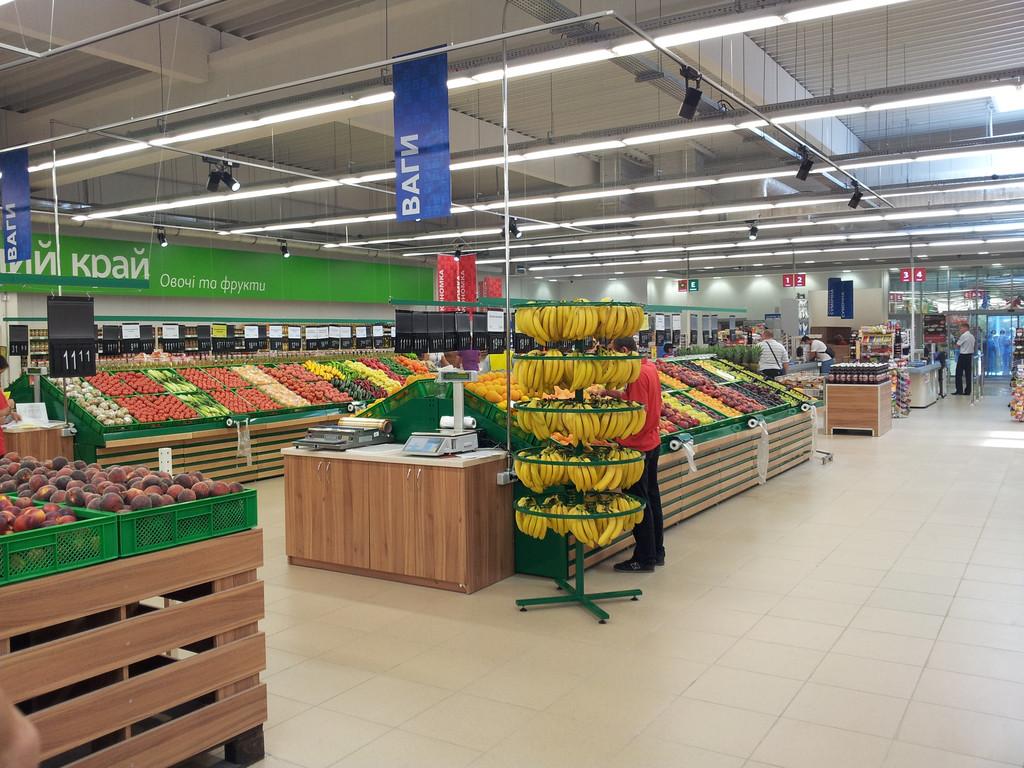 Выполнен проект строительства супермаркета и авторский надзор в г. Киев по ул. Закревского,  площадъ - 4000 м2