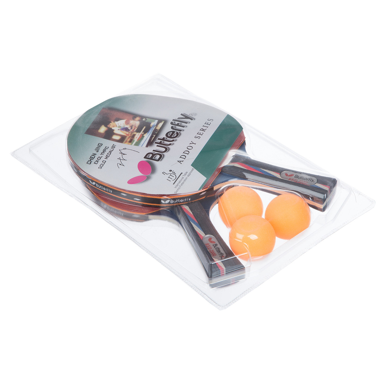 Набор для настольного тенниса 2 ракетки, 3 мяча Butterfly MT-1273