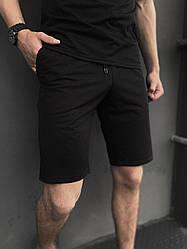 Мужские черные шорты трикотажные Intruder LaCosta в размере S(46) M(48)L (50) XL(52) XXL (54) XXL, 54