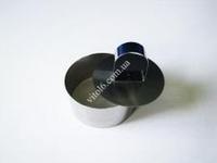 Форма нерж. для гарнира с выталкивателем круг 4 см