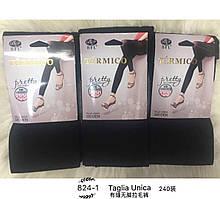 824 Лосины начес чорные BFL TERMICO 320DEN