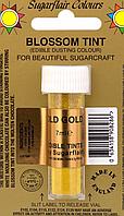 Сухой краситель Sugarflair Старое Золото Old Gold, 7мл
