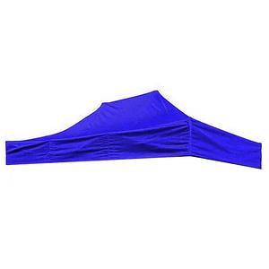 Крыша на Шатер синяя размер 2х3 м ткань двухслойная