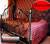 """Кованая кровать """"Аннет"""""""
