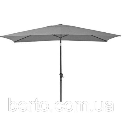 Зонт садовый 3х3 м. Aura темно-серый