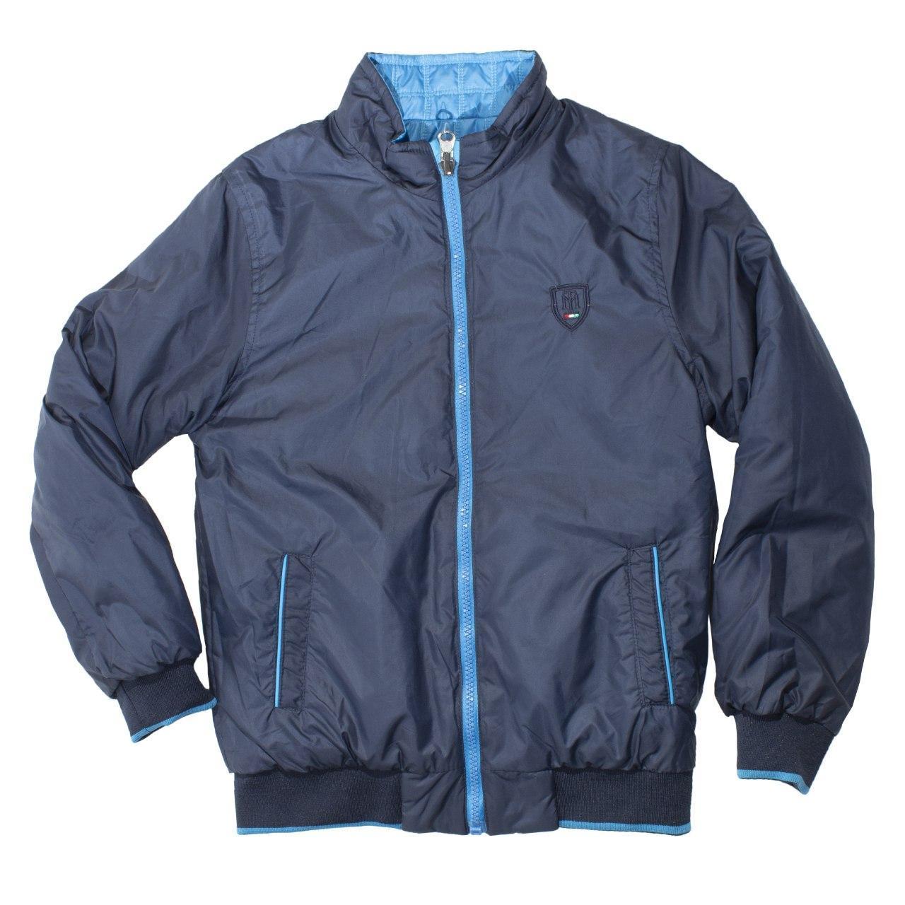 Двостороння куртка-вітровка для хлопчика, розмір 10 років