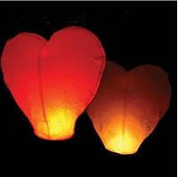 Небесный фонарик Сердце.5 шт.