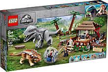 Lego Jurassic World Индоминус-рекс против анкилозавра 75941