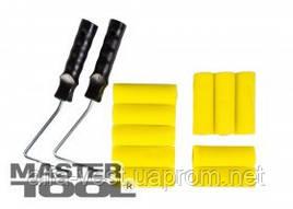 MasterTool  Набор малярный №10 - Валик поролоновый 100*36 мм 10 шт, 2 ручки, Арт.: 92-8110