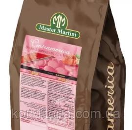 Розовый шоколад (клубничный) Master Martini 1кг