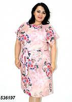 Платье летнее большие размеры 48, 50, 52. 54. 56