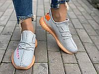 Кроссовки женские летние Adidas yeezy boost 350, размеры 36-41 37