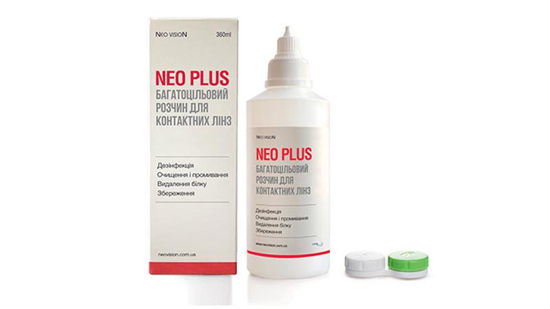 Раствор для контактных линз Neo Plus 360 ml