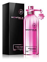 Montale Roses Musk Парфюмированная вода 100ml EDP (Монталь Розовый Мускус Роузес Маск) Женский Парфюм Духи EDT