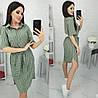 Платье-рубашка в полоску женское (ПОШТУЧНО) M/44