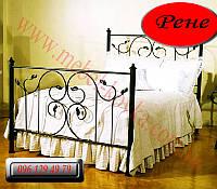 """Кованая кровать """"Рене"""""""