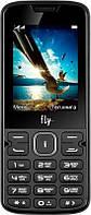 """Мобильный телефон Fly FF250 Dual Sim Black; 2.4"""" (320x240) TN / клавиатурный моноблок / Spreadtrum SC6531E / ОЗУ 32 МБ / 32 МБ встроенной + microSD до"""