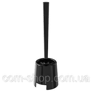 Щетка для туалета IKEA, ершик для чистки унитаза, напольный держатель, черный