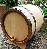 Бочка дубовая 30 литров для вина коньяка самогона виски