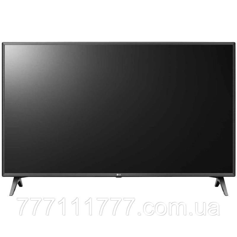 Телевизор 50 дюйма 4К со смарт тв черный LG 50UM7500