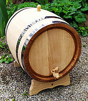 Бочка дубовая 20 литров для коньяка вина самогона виски