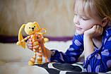 """Вязаная игрушка """"Желтый Зайчик - длинные ушки"""", фото 2"""