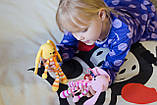 """Вязаная игрушка """"Желтый Зайчик - длинные ушки"""", фото 3"""
