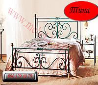 """Кованая кровать """"Тина"""""""