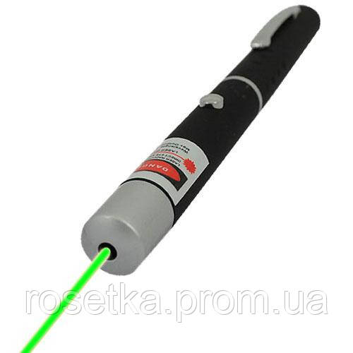 Зелена лазерна указка Grean Laser Pointer 100 mW