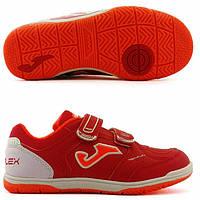 Футзалки детские Joma JR TOP FLEX 906 (TOPJW.906.IN). Бампы для детей для футзала. Детская футзальная обувь.