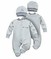 Человечек для малыша в комплекте с шапочкой 56-62 р