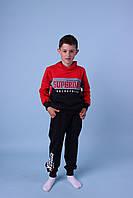 Модные детские спортивные костюмы с худи для мальчиков GRACE,разм 116-146 см, фото 1