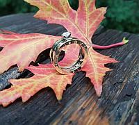 Золотое женское кольцо BVLGARI