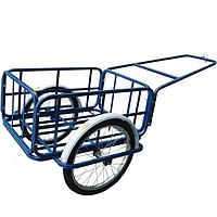 Тележка велосипедная (велоприцеп) объем 150 л