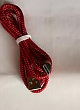 Магнитный кабель шнур зарядки магнитная зарядка USB Type C / Micro USB / Ligtning IPHONE длинна 1 м, фото 4