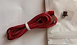 Магнитный кабель шнур зарядки магнитная зарядка USB Type C / Micro USB / Ligtning IPHONE длинна 1 м, фото 3