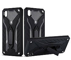 Чехол Shield для Vivo Y91C бронированный бампер Броня Black