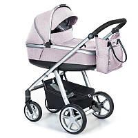 Детская универсальная коляска 2 в 1 Espiro 2.1 Next Melange 2020 08 Pink Walk