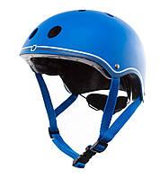 Шлем защитный детский Globber, синий, с фонариком, 45-51см (XXS/XS) (506-100)