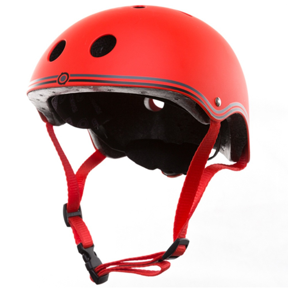 Шлем защитный детский Globber красный, размер XS 51-54см (500-102)