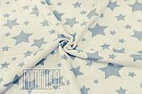 Плотный 100х90 детский хлопковый байковый флисовый детский плед одеяло для малышей детей в коляску 4837 Синий