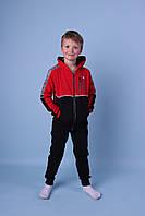Яркие подростковые спортивные костюмы тройки для мальчиков люкс качества,разм 134-164 см,95% хлопок, фото 1