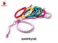 Женские кожаные браслеты на руку разные цвета