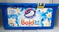 Гелеві капсули Bold універсальні з Lenor (лотус та лілія) 25 прань